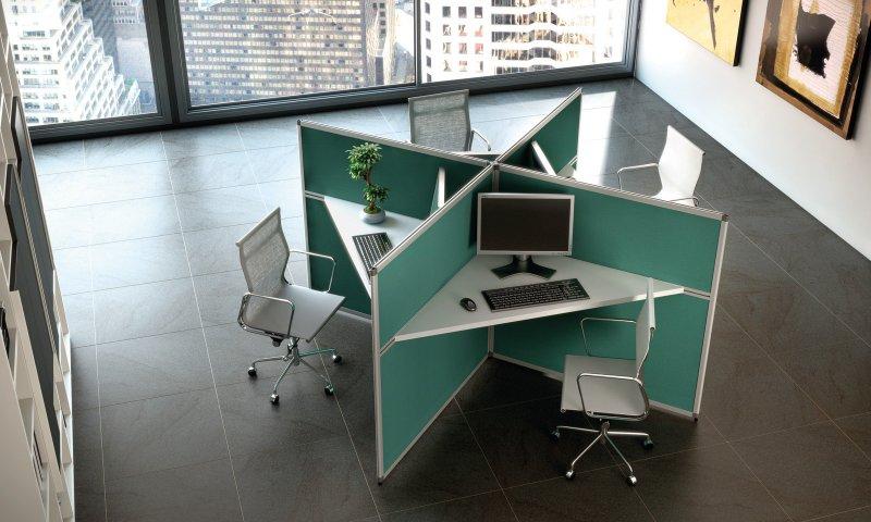 stock b roeinrichtungen trennw nde im b ro als. Black Bedroom Furniture Sets. Home Design Ideas
