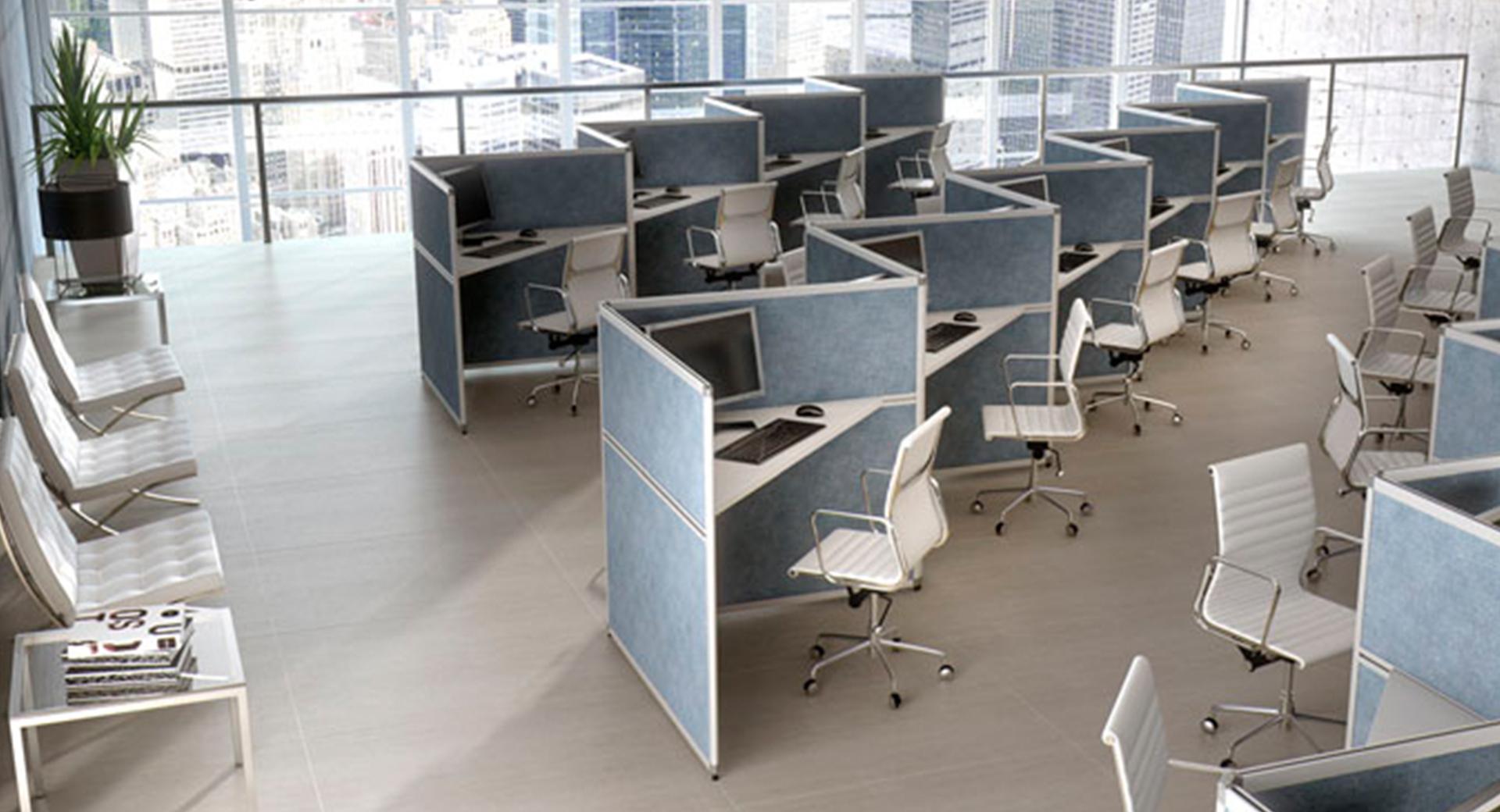 stock b roeinrichtungen trennw nde und trennwandsysteme f r call center und b ro. Black Bedroom Furniture Sets. Home Design Ideas