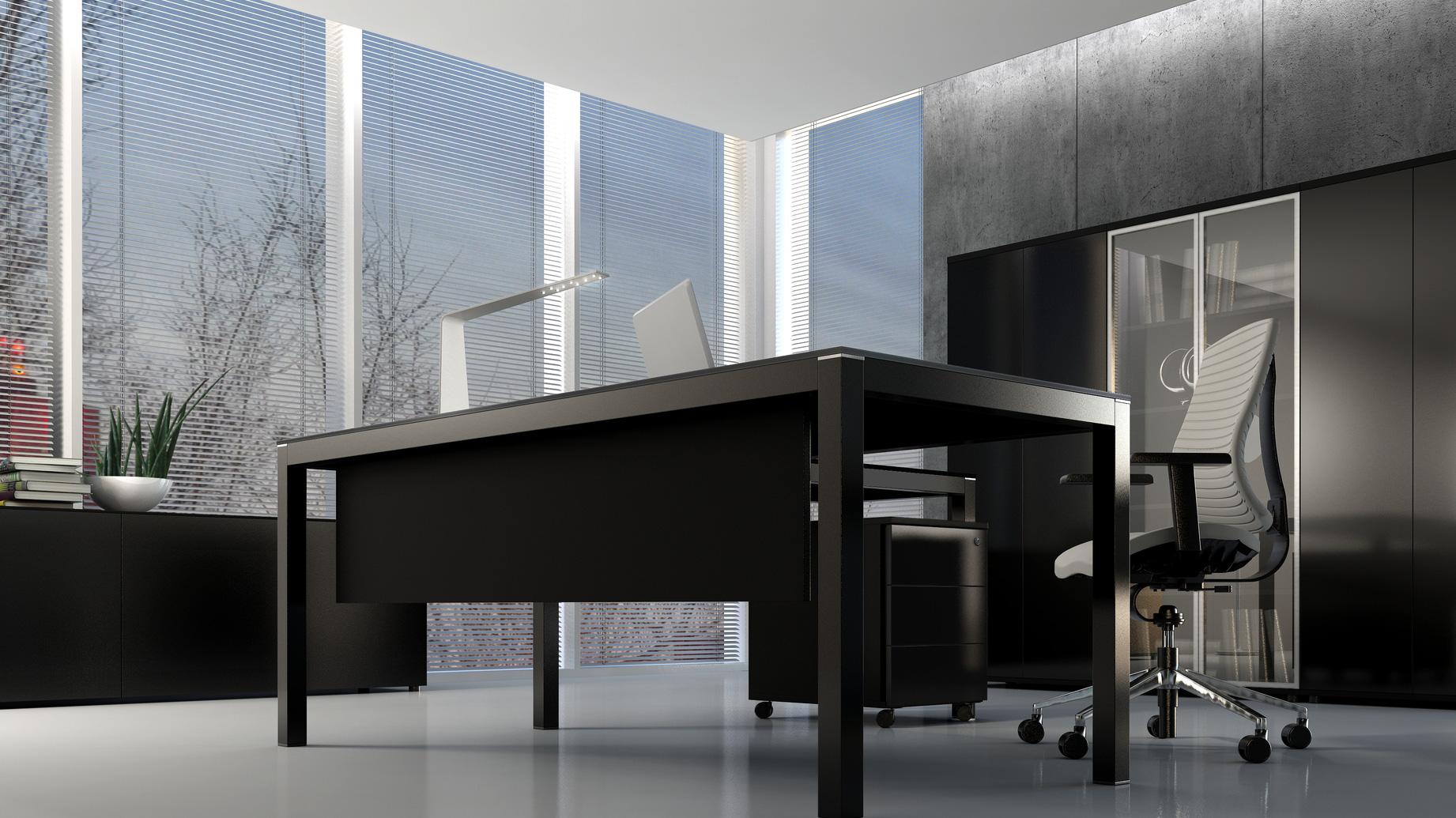 STOCK Büroeinrichtungen - Chefzimmer Büromöbel Serie Mover