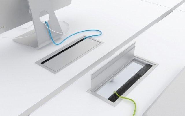 Kabelkanal Schreibtisch Unterbau 2021